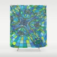 faith Shower Curtains featuring Faith by inara77