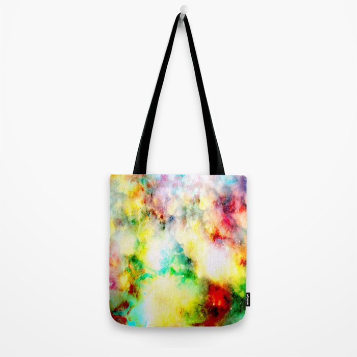 Fume Color Splash 01 Tote Bag