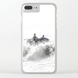 In The Brine Clear iPhone Case