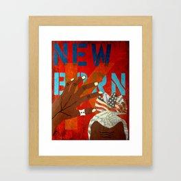 New Born King Framed Art Print