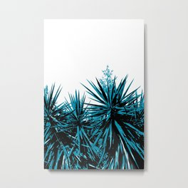 Yucca Trees Metal Print