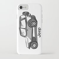 jeep iPhone & iPod Cases featuring Jeep by Mister Abigail