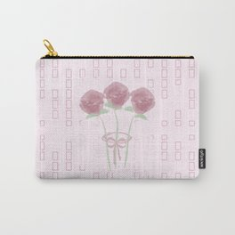 Love Your Roses Carry-All Pouch