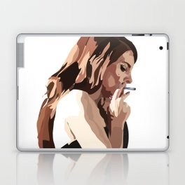 Lana with Cigarette Laptop & iPad Skin