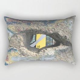 Through the Berlin Wall Rectangular Pillow