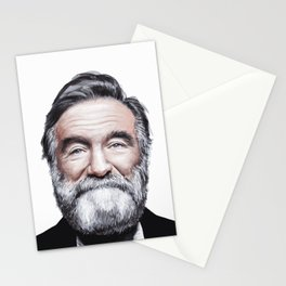 A tribute to Robin Williams Stationery Cards