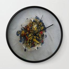 Fruitcake Wall Clock
