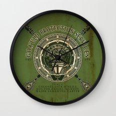 Goa'uld Protection Services Wall Clock