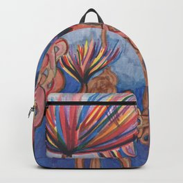 Knot Flowers Backpack