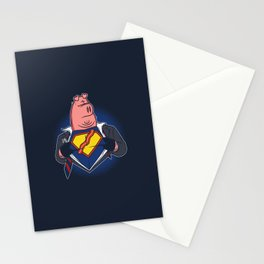 Super Bacon Stationery Cards
