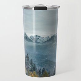 The view - Neuschwanstin casle Travel Mug