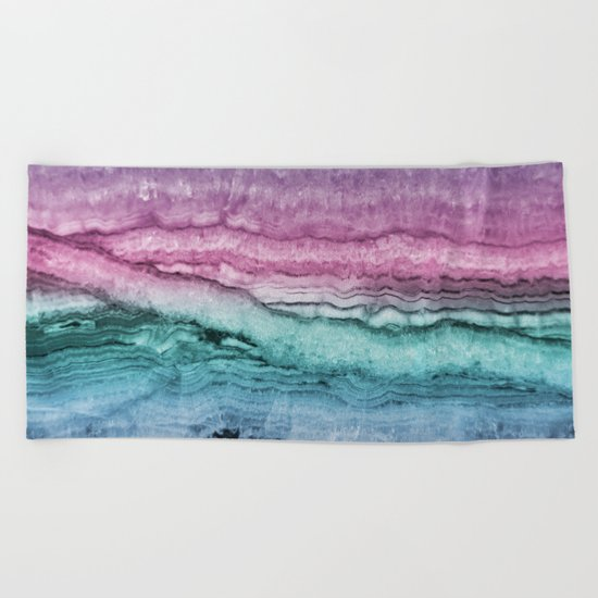 Mystic Stone Serenity Dream Beach Towel