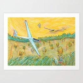 Flying Dreams Art Print