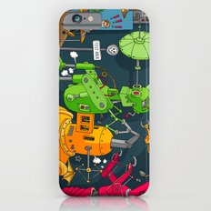 Robot Rampage iPhone 6s Slim Case