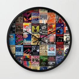 The Wall Concert Posters Wall Clock