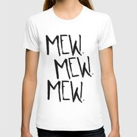 mew T-shirts featuring Mew. by Jenna Settle