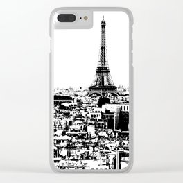City of Love Clear iPhone Case