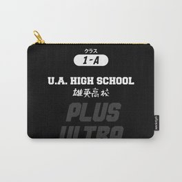 U.A. High School Print Carry-All Pouch