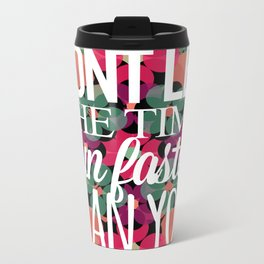 FLOWER TIME Metal Travel Mug
