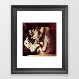 Beneath the skin Framed Art Print