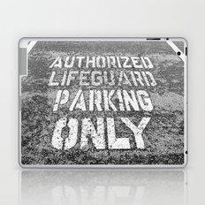 Lifeguard Parking Space Laptop & iPad Skin
