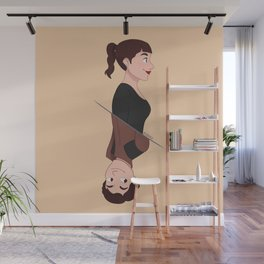 Han Solo and Qi'Ra Wall Mural