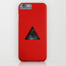Red Mountain iPhone Case