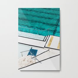 Bondi Icebergs Club III Nautical Geometry Metal Print
