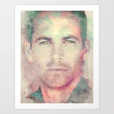 PAUL WALKER R.I.P Art Print