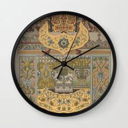 Russian Ornament Wall Clock