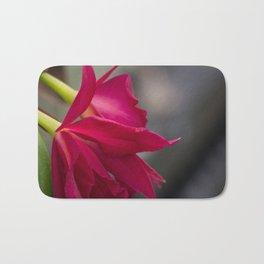 Pink Cattleyas Bath Mat