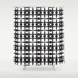 Globule pattern Shower Curtain