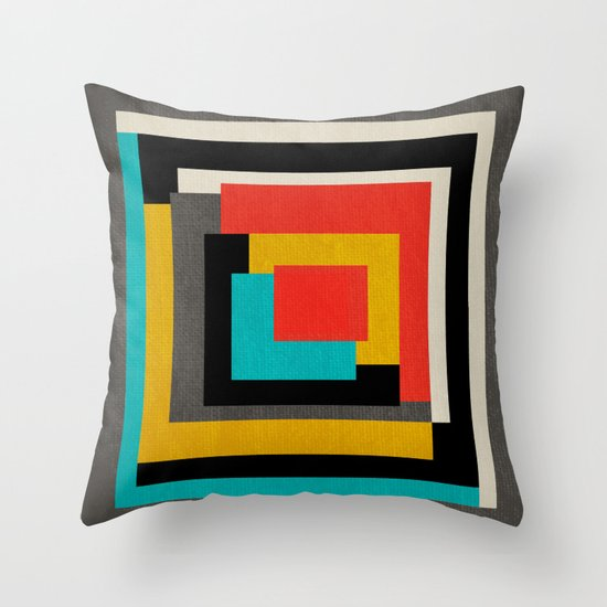 Beethoven - Symphony No. 5 Throw Pillow by Prelude Posters Society6