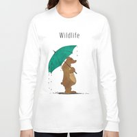 wildlife Long Sleeve T-shirts featuring Wildlife by AhaC
