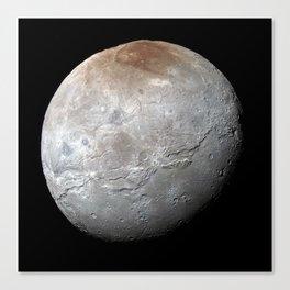 Charon Moon Canvas Print