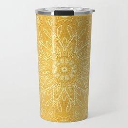 fine sun star mandala Travel Mug