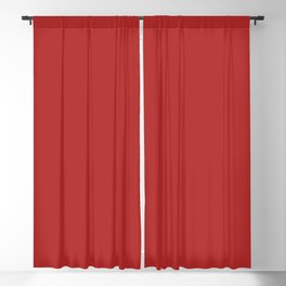 Blood Red Blackout Curtain