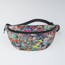 creative chaos Fanny Pack