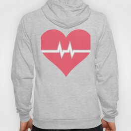 Heartbeat | Cute Nurse Design Hoody