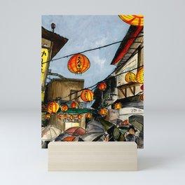 JIUFEN, TAIWAN Mini Art Print