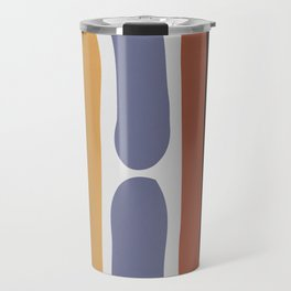 Reverse Shapes II Travel Mug