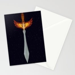 Sword of the Phoenix  Stationery Cards