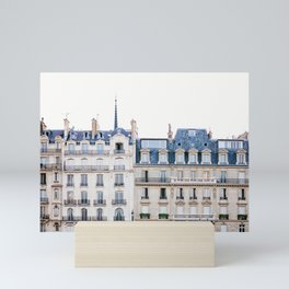Tres Paris - Travel, Architecture Photography Mini Art Print