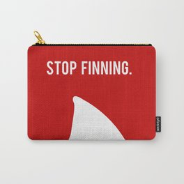 Stop Fin-ning Carry-All Pouch