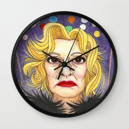 Ms. Lange  Wall Clock