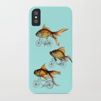 fish iPhone & iPod Cases featuring fish by Кaterina Кalinich