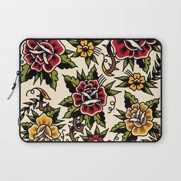 Flower tattoo Laptop Sleeve