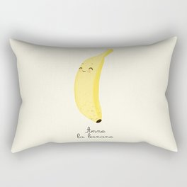 Anne la banane Rectangular Pillow
