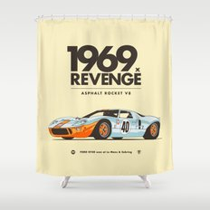 1969 Shower Curtain