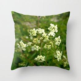 White Water Hemlock Throw Pillow